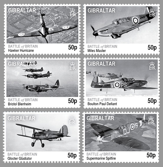 Battle of Britain Stamps Battle of Britain 70th