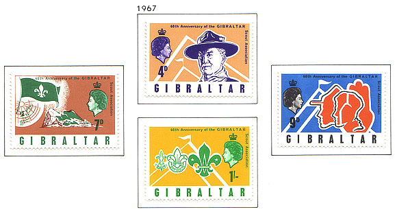 1968 60th ann. of Gibraltar Scouts