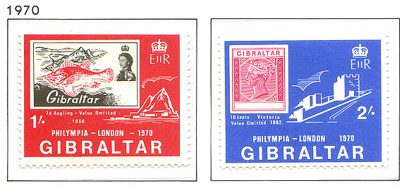 1970 Phlympia Stamp Exhibtion