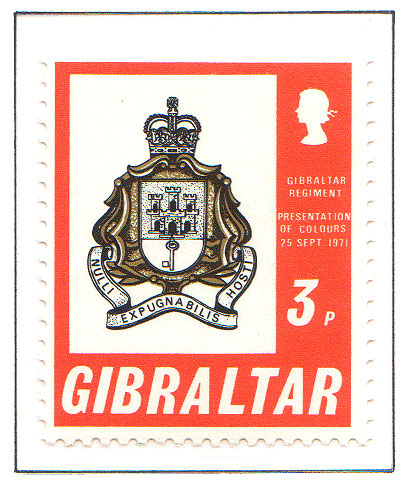 1971 Gibraltar Regiment
