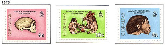 1973 125th Ann. of Gibraltar Skull