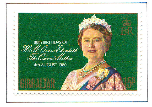 1980 80th Birthday of Queen Mother