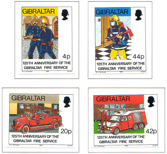 125th Ann. of Gibraltar Fire Service