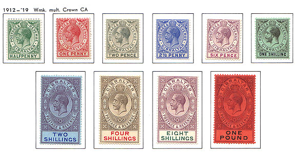 1912 King George V Complete Set