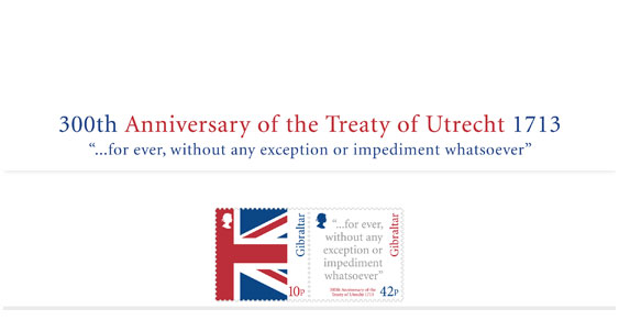 300th Anni. Treaty of Utrecht