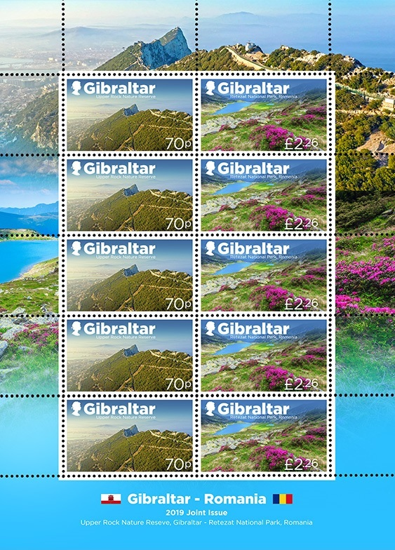 Gibraltar - Romania Joint Issue