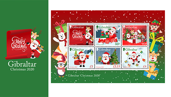 Specs Christmas Eve Hours 2020 NEW Christmas 2020 Pack Miniature Sheet | Stamps | 2020