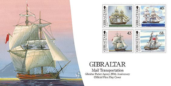 Gibraltar Packet Agency 200th Anniversary