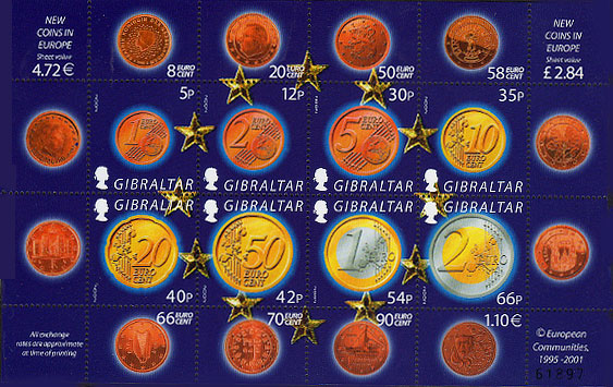 The Euro (new EU coins)