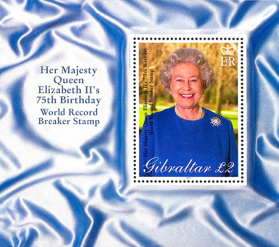 Guinness World record for HM QEII