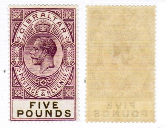 1925 King George V £5 REDUCED PRICE