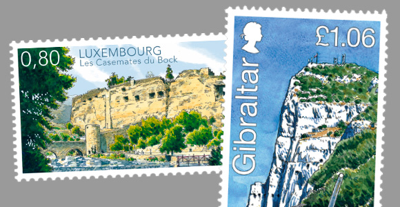 Gibraltar - Luxembourg Joint Issue